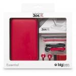 Sacoche et accessoires Essentiel 3DSXL coloris bleu. Sacoche de transport rigide.