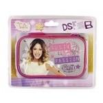 Sacoche Violetta pour Nintendo DS*. Compatible : DSLite, DSi, DS XL, 3DS et 3DS XL.