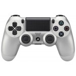 Manette Dual Shock 4 Silver Sony PS4