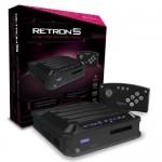 Console Retron 5 Noire gba / snes / genesis / famicom