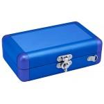 Valise Aluminium DSLite / DSi Bleu. Transporte et protege des chocs votre nintendo dsi lors des transports.