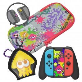 Sacoche et accessoires SPLATOON 2 Nintendo switch HORI