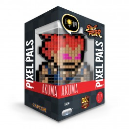 Figurine Lumineuse Pixel Pals Street Fighter AKUMA 017