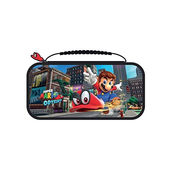 Sacoche de transport deluxe officelle mario odyssey pour for Housse zelda switch