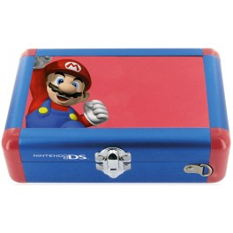 Valise aluminium officielle Mario qui saute pour 3DS