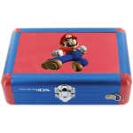 Valise aluminium officielle Mario qui combat. Valise de transport rigide et tres solide pour Nintendo dslite et dsi.