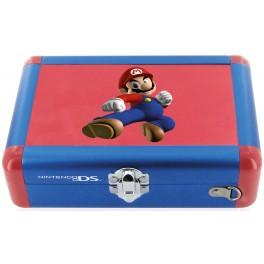 Valise aluminium officielle Mario qui combat pour 3DS