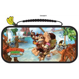 Sacoche de transport Deluxe Officelle Donkey Kong Country Tropical Freeze pour Nintendo Switch