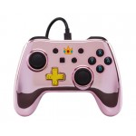 Manette filaire Peach pour Nintendo Switch