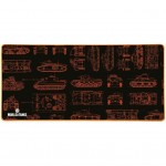 Tapis de souris MP-25 World Of Tanks XXL