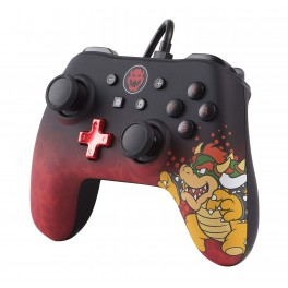 Manette filaire Super Mario Bowser Nintendo Switch
