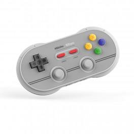 Manette Bluetooth N30 Pro2 NES pour Nintendo Switch Gris