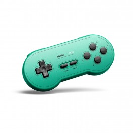 Manette Bluetooth SN30 G Classic SNES pour Nintendo Switch Verte
