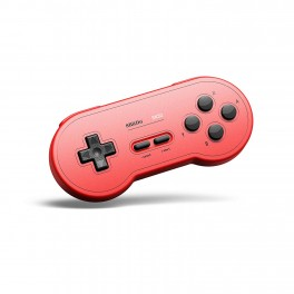Manette Bluetooth SN30 G Classic SNES pour Nintendo Switch Rouge