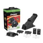 Chargeur de 2 Manettes avec batterie rechargeable sans fil pour Xbox One Noir