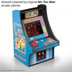 Mini Borne Arcade Ms. Pac-Man
