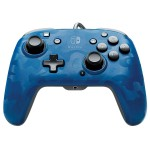 Manette filaire Camo Audio Bleu pour Nintendo Switch