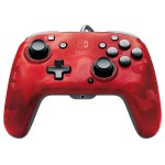 Manette filaire Camo Audio Rouge pour Nintendo Switch