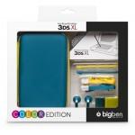Pack accessoires 3DSXL Bleu & Rose