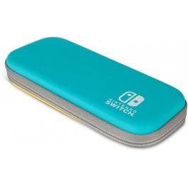 Sacoche rigide Turquoise et Jaune pour Nintendo Switch Lite