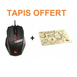 Souris Runemaster Evo Drakkar + Tapis OFFERT