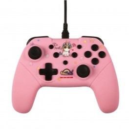 Manette Filaire Licorne BE FUNKY pour Nintendo Switch