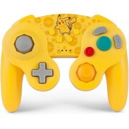 Manette sans fil GameCube Pokemon Pikachu pour Nintendo Switch