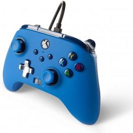 Manette Améliorée Filaire Bleu Série X/S pour Microsoft Xbox One