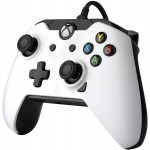 Manette Filaire pour Xbox One/S/X/PC Blanche