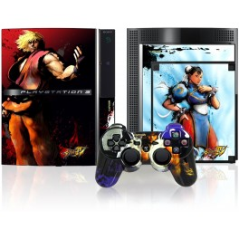 Skin Street Fighter 4 Three Design pour Manette & Console