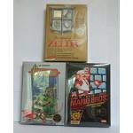 Lot de 10 Boîtes plastique pour Nintendo NES