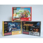 Lot de 10 Boites plastique compatibles Super Nintendo & Nintendo 64