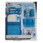 Accessoires pour DSLite / DSi Chien Bleu. Pochette de rangement pour Nintendo DSLite/DSi et ses accessoires décor chien.