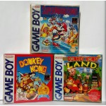 Lot de 10 Boites plastique compatibles Game Boy / Game Boy Advance / Game Boy Color