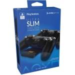 Chargeur Ultra Slim pour manettes pour Sony Playstation / Noir