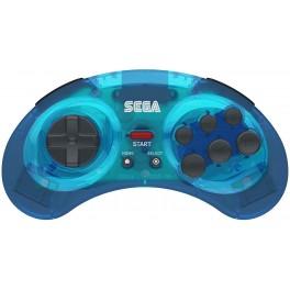 Manette Bluetooth Bleu Design Sega Mega Drive
