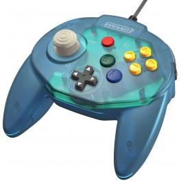 Manette Tribute 64 pour Nintendo 64 Bleu Océan