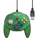 Manette Tribute 64 USB Verte pour Nintendo Switch / PC ....