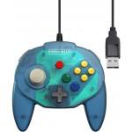 Manette Tribute 64 USB Bleu Océan pour Nintendo Switch / PC ....
