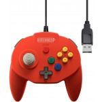 Manette Tribute 64 USB Rouge pour Nintendo Switch / PC ....