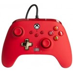 Manette Améliorée Filaire Rouge Série X/S pour Microsoft Xbox One