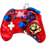 Manette Filaire Rock Candy Mario pour Nintendo Switch